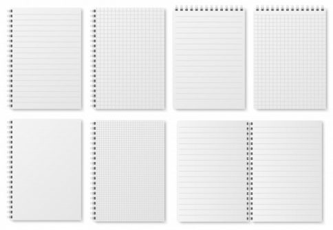 Grid Dot Notebook